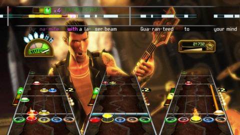 Yup, still Guitar Hero down here, too.