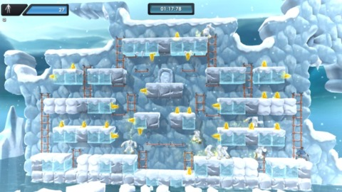 In the ice levels, your enemies are yetis.