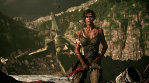 Tomb Raider has a lot of homages to The Descent