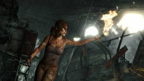 Lara Croft can survive almost anything.