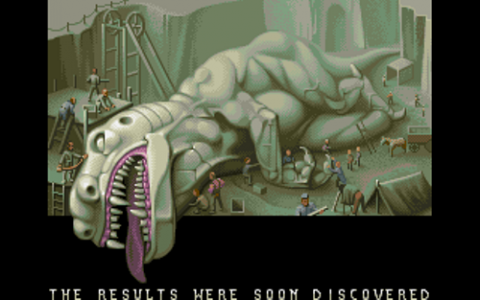 A screenshot from the game's introduction.