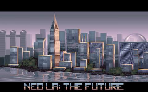 Duke Nukem II Screen.