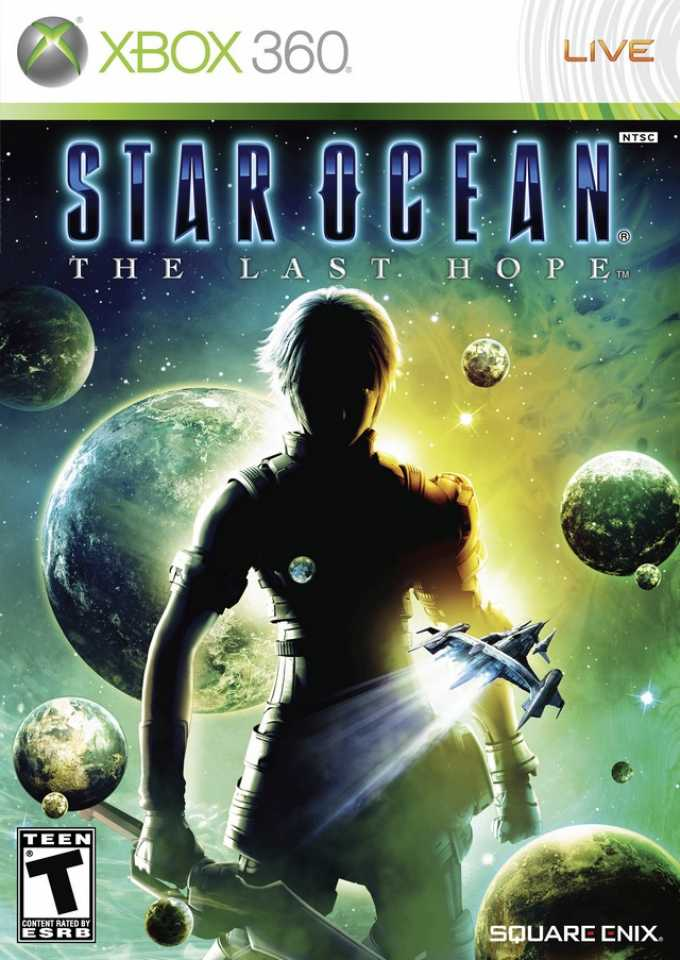 Front cover of Star Ocean: The Last Hope (US) for Xbox 360