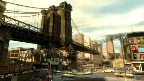 Welcome to Liberty City.