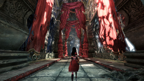 The Red Queen's domain is as sinister as ever.