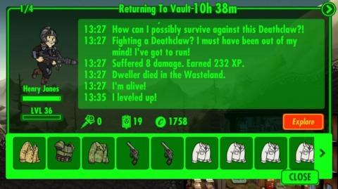 Exploring the wasteland can bring big rewards.