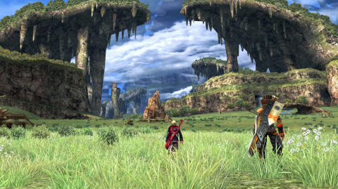 A sprawling epic 60-100+ hour adventure across vast and lush environments.