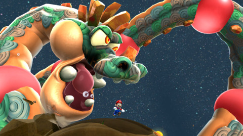 There are plenty of big, crazy boss fights, too.