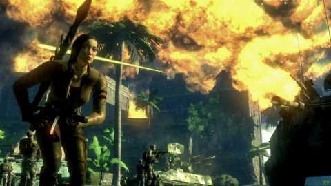 Mui utilizing the power of explosives.