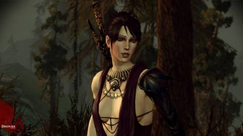 Dragon Age features superb voice-acting, with Morrigan stealing the show.