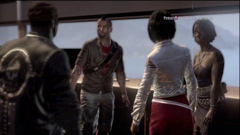 Xian, Logan, Purna, and Sam B discuss survival plans.