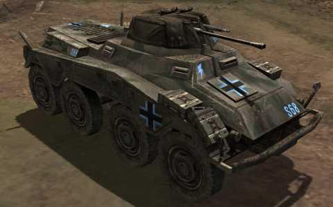 Axis Armored Car