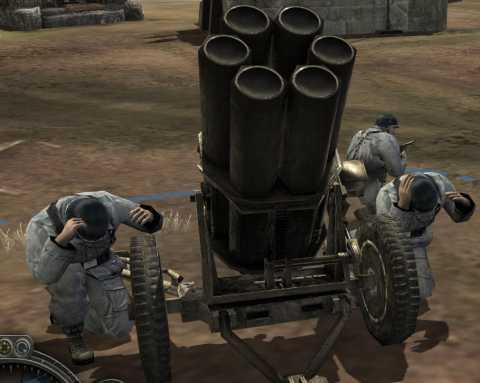 Nebelwerfer Rocket Battery