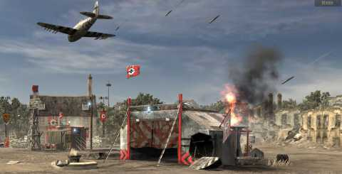 Bombing Run delivers swift destruction to unprotected installations.