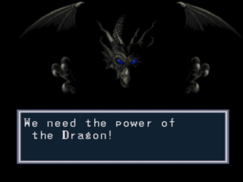 There be dragons in this game.