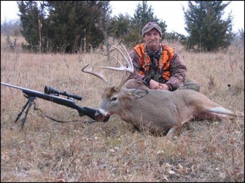 A good sized buck