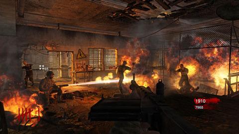 Death by flamethrower