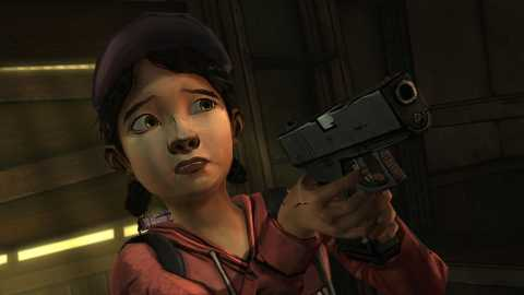 Even though she's just a child, Clementine is a very smart, resourceful person.