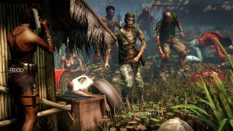 Guns are in short demand on Dead Island, so you'll have to cherish every moment when you find some.