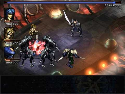 The game makes extensive use of particle effects.