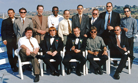 The Neversoft team in 1998