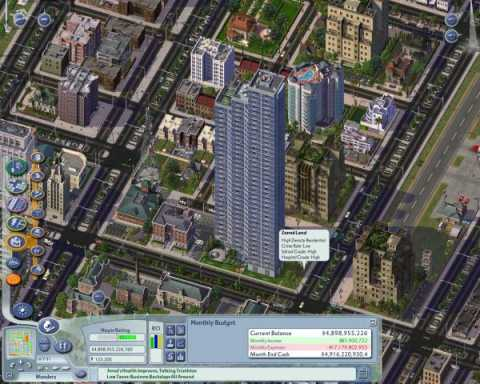 The city in Mayor Mode