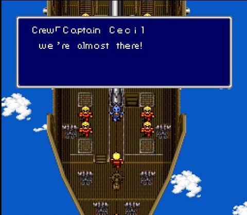Final Fantasy IV on the SNES