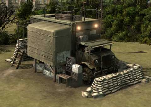 HQ Command Truck, unpacked
