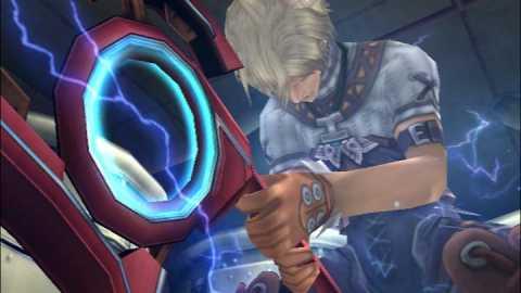 The Monado, a powerful blade that hides a secret.