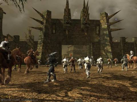 Example of a city raid