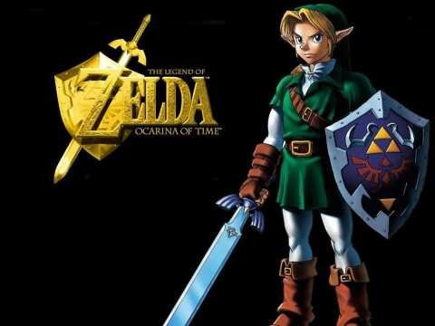 Link, as depicted in the adult era of Ocarina of Time.