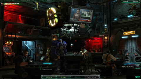 The Hyperion Cantina - Raynor's favorite place on the ship
