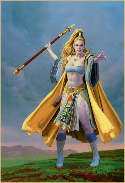 Everquest Cover Girl
