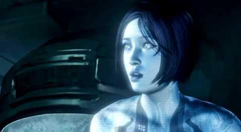 Cortana in Halo 4