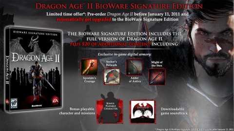 Signature Edition Details
