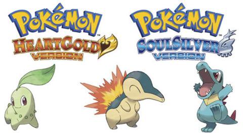 Starter Pokemon from Johto