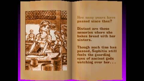 Sophitia's Soul Edge ending.