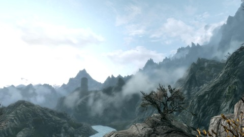 Skyrim is vast, but dangerous thanks to dragons, giants, and other interesting creatures.
