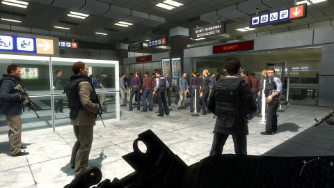 The airport massacre
