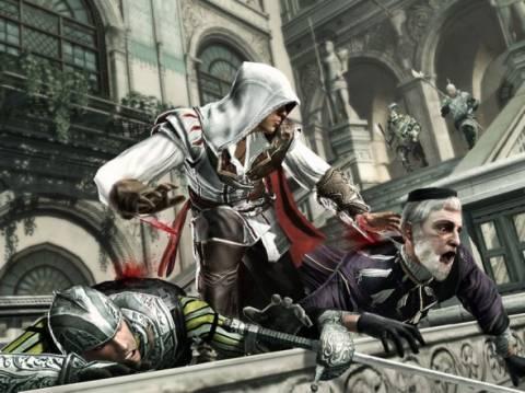 Ezio during his day job