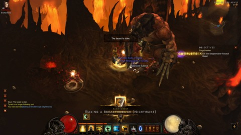 Diablo III was tremendously fun for an experience that I mostly don't remember. Lots of stuff died, though.
