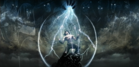 In his ending, Liu Kang receives the powers of the gods