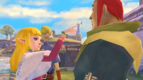 Zelda scolds Groose for bullying Link