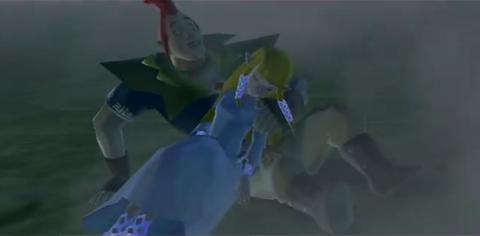 Groose saves Zelda