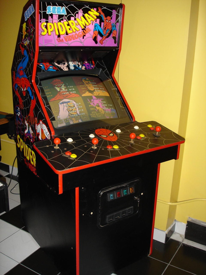 Spiderman: the Video Game Arcade Cabinet