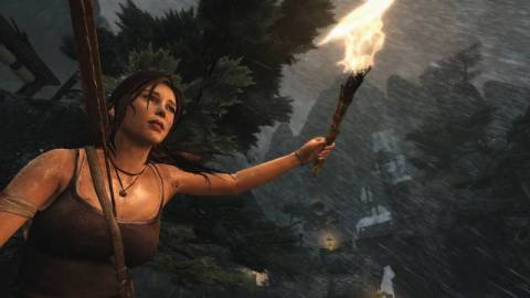 Lara's new character design reflects the game's nature as a full Tomb Raider reinvention.
