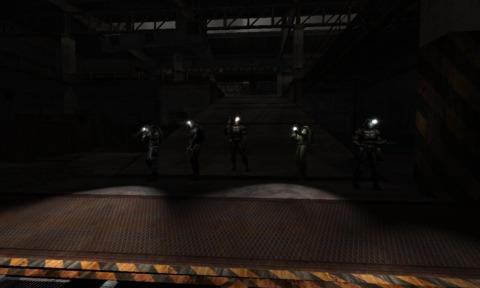 The Team enters Pripyat underground