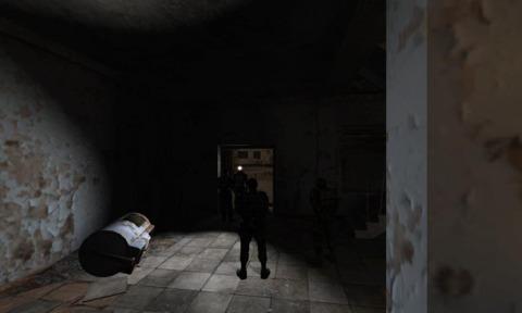Strelok makes his way to the Laundromat in Pripyat
