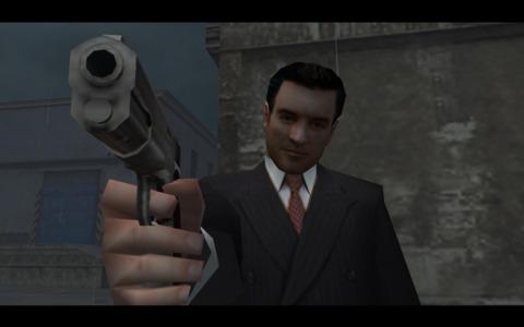 Tommy hesitating to shoot