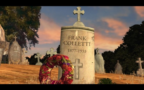 Frank's grave, although Frank isn't actually in it